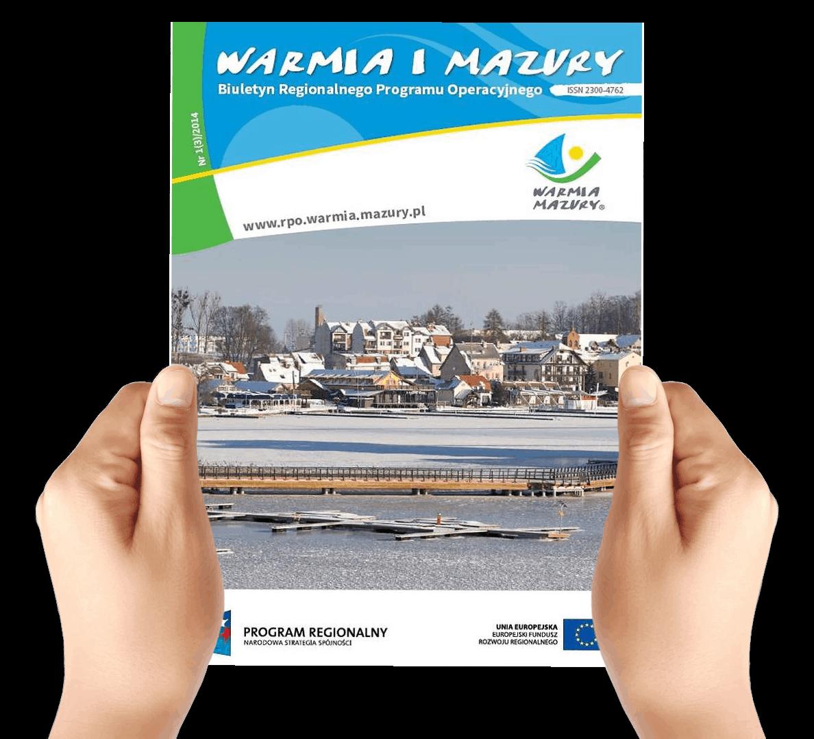 Prezentacja biuletynu Warmia i Mazury