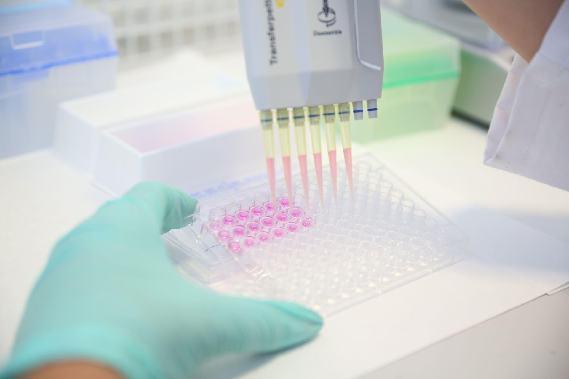 Próbki do badania krwi